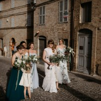 Ashley and Ashleigh, Wedding in Petritoli, Le Marche